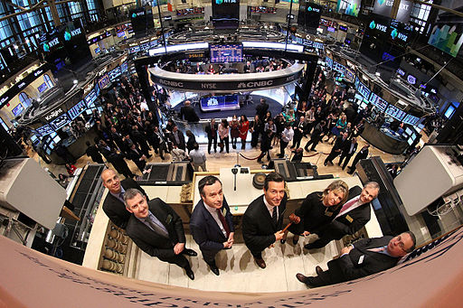 FT ringing the Closing Bell at the NYSE (8740579005)