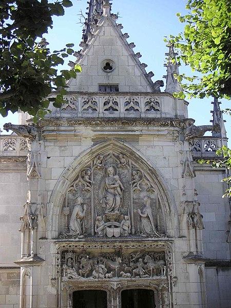Fichier:Façade de la chapelle St Hubert.JPG