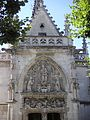 Façade de la chapelle St Hubert.JPG