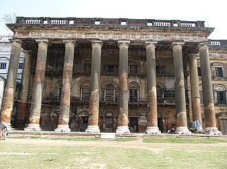 Andul - Andul Palace known as Āndul Rāj Bāṛi of Kar-Roy family, later it was owned by the Mitra family.