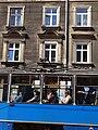 Facade with Passing Tram - Krakow - Poland (9195752958).jpg