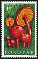 Faroe stamp 303 hygrocybe helobia.jpg