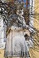 Fehérgyarmat, templomkerti Nepomuki Szent János-szobor 2021 08.jpg