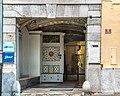 Feldkirchen Kirchgasse 8 Baur-Hansl-Haus Portal und Hausflur 02082018 6081.jpg