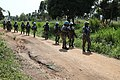 Female combat troops of South African Contingent in MONUSCO on robust foot and moblile patrols 59.jpg
