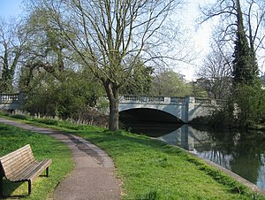 Fen Causeway, Cambridge - Fen Causeway crossing the River Cam.