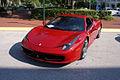 Ferrari 458 2011 Italia LSideFront CECF 9April2011 (14414295838).jpg