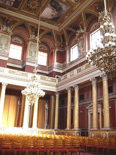 Ceremonial Hall (Festsaal) in the main building