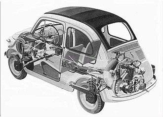 Dante Giacosa - Fiat 500