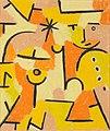 Figur in Gelb (Figure in Yellow) by Paul Klee, 1937.jpg