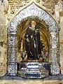 Figura policromada del Santo ,Catedral del Salvador, Santo Domingo de la Calzada.jpg