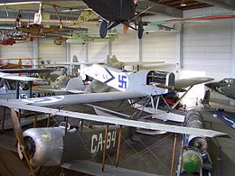 Finnish Aviation Museum exhibition hall 1 20090419.jpg