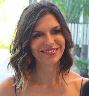 Finola Hughes - Hughes in October 2013