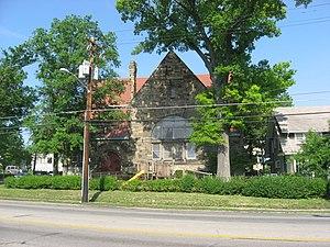 First Unitarian Church (Cincinnati, Ohio) - Front of the church