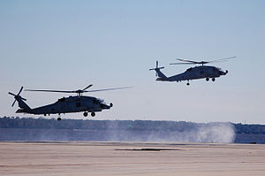 725 Squadron RAN - The RAN's first two MH-60Rs at NAS Jacksonville shortly before being formally delivered in December 2013