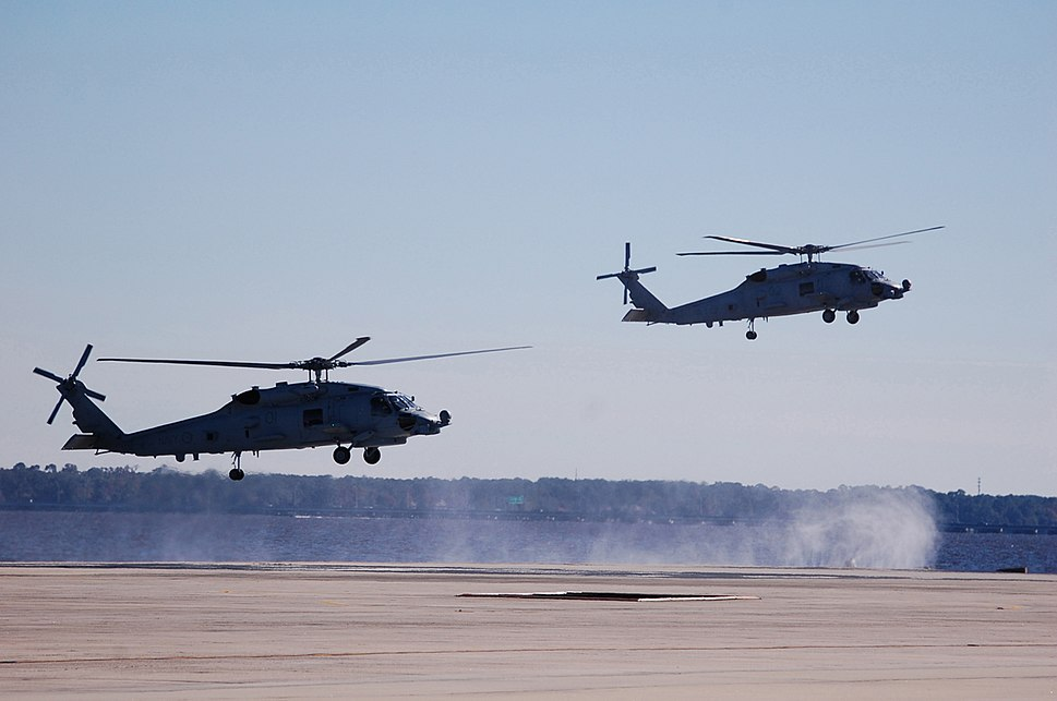 First two RAN MH-60Rs before delivery