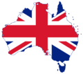 Flag map of Australia (United Kingdom).png