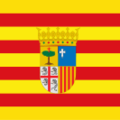 Flag of Aragon square.png
