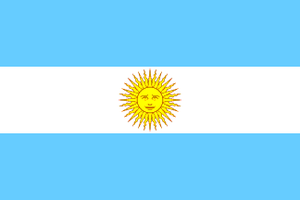 ARA General Belgrano - Image: Flag of Argentina (2 3)