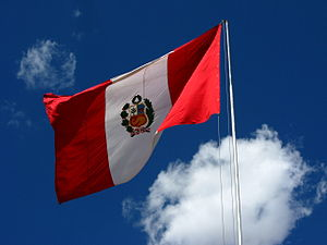 National Anthem of Peru - Image: Flag of Peru (1)