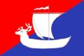 Flag of Pustozyorsky (Nenetsia).png