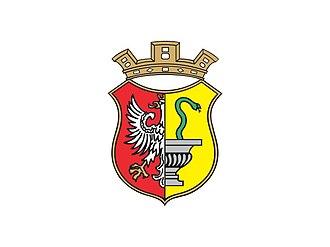 Otwock - Image: Flaga Otwocka