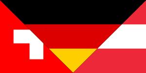 Flagge Schweiz Deutschland Oesterreich.png