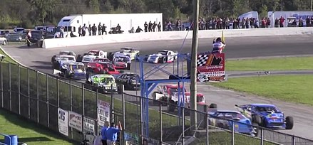 Hamilton is home to the Flamboro Speedway, an auto racing track. Flamboro speedway.jpg