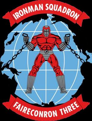 Fleet Air Reconnaissance Squadron 3 (United States Navy) - Image: Fleet Air Reconnaissance Squadron 3 (US Navy) insignia 2015