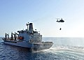 Flickr - Official U.S. Navy Imagery - USNS Henry J. Kaiser approaches USS Enterprise to conduct replenishment at sea..jpg