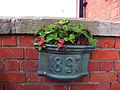 Flower pot, Magilligan Railway Station - geograph.org.uk - 2023681.jpg