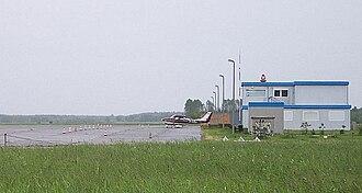Rechlin–Lärz Airfield - Image: Flugplatz Rechlin Lärz