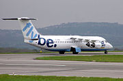 British Aerospace 146, to be replaced from 2006 by the Embraer 195