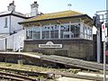 Folkestone Harbour Signal Box with Black Bunting.jpg