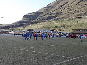 FC Suðuroy - FC Suðuroy – B68 Toftir, Vodafonedeildin April 2010, result: 3–1 to FC Suðuroy