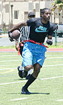Football on a hot summer's day, 101 Days of Summer Flag Football 140803-M-TH981-004.jpg