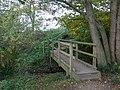 Footbridge on the Sandstone Trail - geograph.org.uk - 1558823.jpg