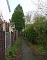 Footpath - Alwoodley Lane - geograph.org.uk - 783253.jpg