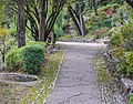 Footpath in Jardins de la Fontaine in Nimes 04.jpg