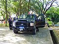 Ford Excursion limited Armored Car of ROC Military Police in Military Police School Woods 20120908b.jpg