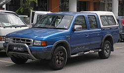 Ford Ranger (Southeast Asian, first generation) (front), Serdang.jpg