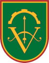 Former insignia of the Lithuanian Duke Vaidotas Mechanised Infantry Battalion.png
