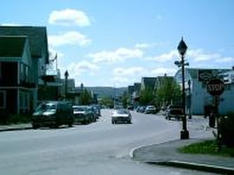 Fort Kent, Maine - Downtown Fort Kent