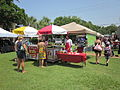 Fort Walton Landing Latino Fest Italian Ice samples.JPG