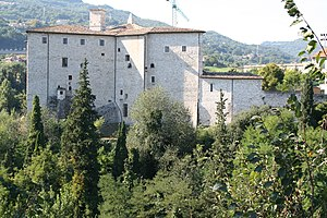Galeotto I Malatesta - Forte Malatesta in Ascoli Piceno, built by Galeotto and later remade by Antonio da Sangallo the Younger.