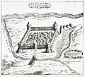 Fortress Turoula Belarus 1579.jpg