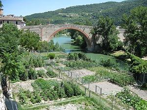 Ponte della Concordia, Fossombrone - Fossombrone bridge