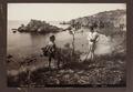 Fotografi på Isola Bella e Capo, Taormina, 1888 - Hallwylska museet - 107920.tif