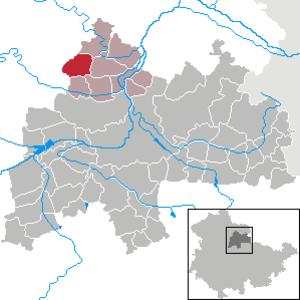 Frömmstedt - Image: Frömmstedt in SÖM