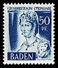 Fr. Zone Baden 1948 24 Stéphanie de Beauharnais.jpg